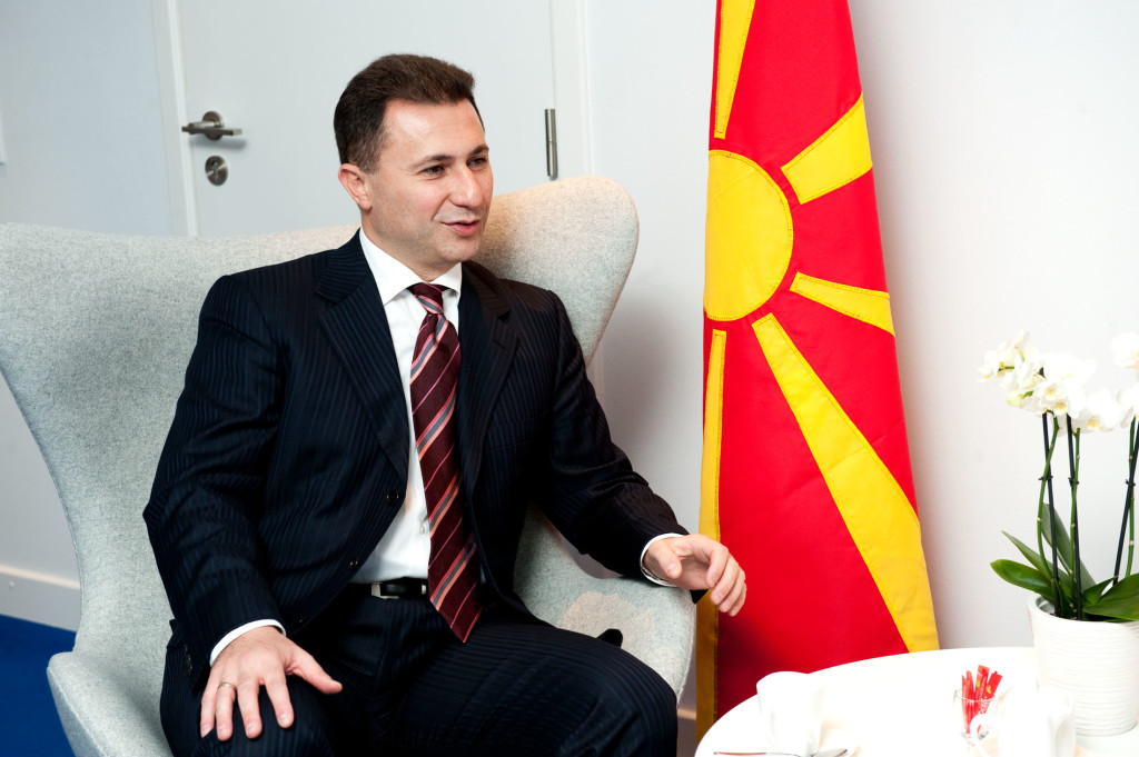 Visit to NATO by Nikola Gruevski, Prime Minister of the former Yugoslav Republic of Macedonia