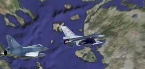 Σκληρή-αερομαχία-Ελληνικών-Mirage-2000-5-με-τουρκικά-F-16-στο-Αιγαίο
