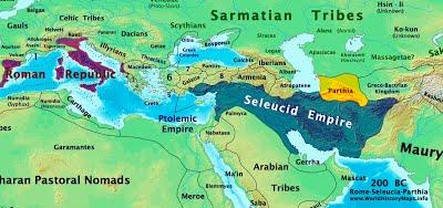 Rome-Seleucia-Parthia_200bc