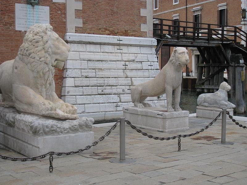 λιοντάρια 3 δεξιά εισόδου